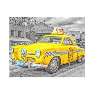 Taxi Lona Envuelta Para Galerias