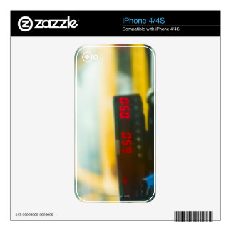 Taxi Meter Decals For iPhone 4