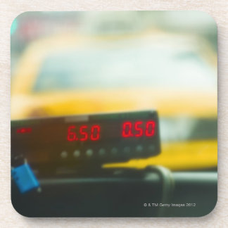 Taxi Meter Drink Coaster