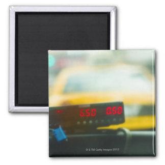 Taxi Meter Magnet