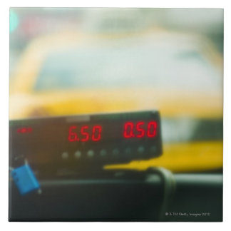 Taxi Meter Tile