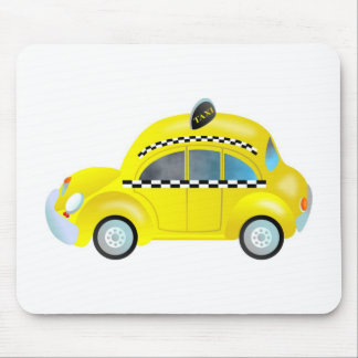 Taxi Mouse Pad