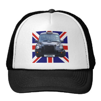 Taxi negro de Londres Gorros Bordados