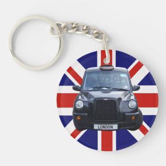 Taxi negro de Londres Llaveros