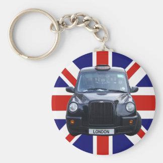 Taxi negro de Londres Llavero