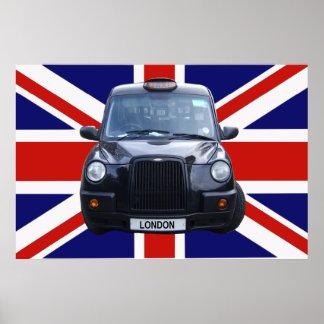 Taxi negro de Londres Posters