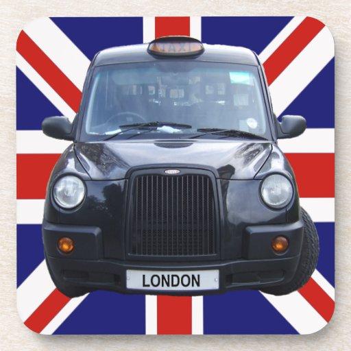 Taxi negro de Londres Posavasos