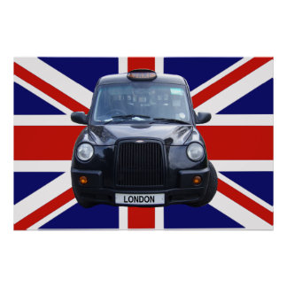 Taxi negro de Londres Póster