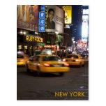 taxi Nueva York Postal
