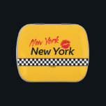 """TAXI NY-NY Red KIS Limps Jelly Belly Candy Tin<br><div class=""""desc"""">TAXI NY-NY Red KIS Limps Jelly Belly by PopAlien</div>"""