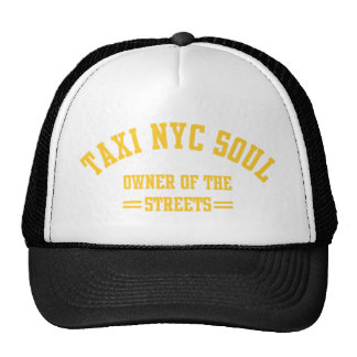 taxi nyc soul owner of the strees hats