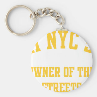 taxi nyc soul owner of the strees keychain