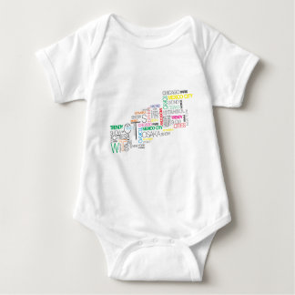 taxi nyc soul the world-famous cities baby bodysuit