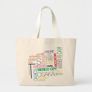taxi nyc soul the world-famous cities large tote bag