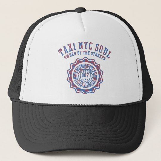 taxi nyc soul trucker hat