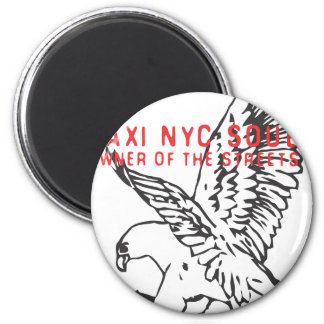 taxi nyc soul ubran freestyler fly eagle force 2 inch round magnet