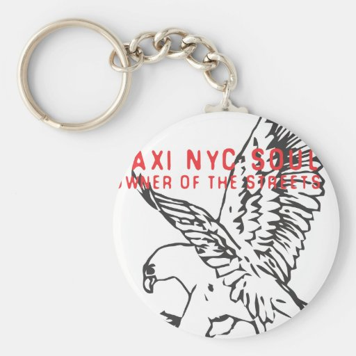taxi nyc soul ubran freestyler fly eagle force basic round button keychain
