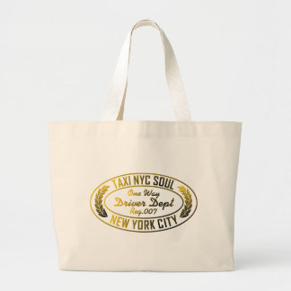 taxi nyc soul urban graphic canvas bag