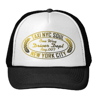 taxi nyc soul urban graphic hat