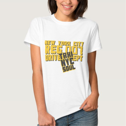 taxi nyc soul urban graphic t-shirt