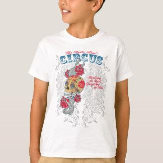 taxi nyc soul urban tattoo circus rose skull T-Shirt