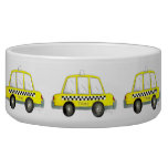 Taxi NYC Yellow New York City Checkered Cab Gift Bowl