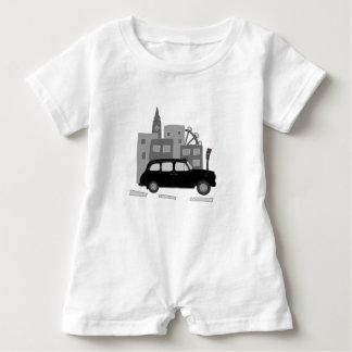 Taxi Scene Baby Romper