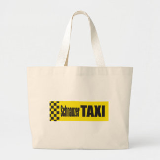 Taxi Schnauzer Canvas Bag