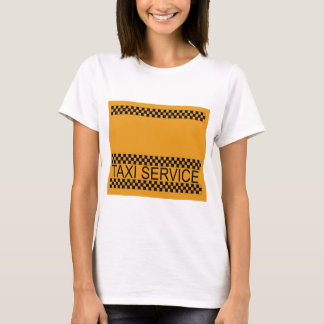 Taxi service with space for text T-Shirt
