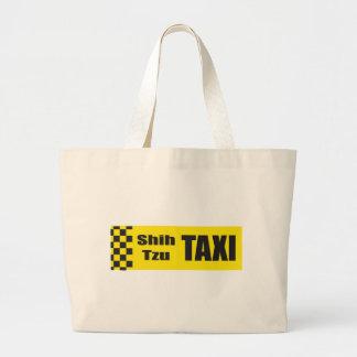 Taxi Shih Tzu Tote Bags
