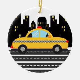 Taxi - SRF Adorno Redondo De Cerámica