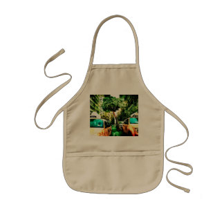 Taxi Style with Old Design Kids' Apron