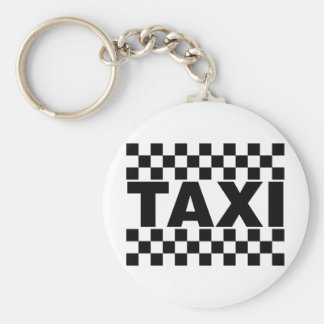 Taxi ~ Taxi Cab ~ Car For Hire Keychain