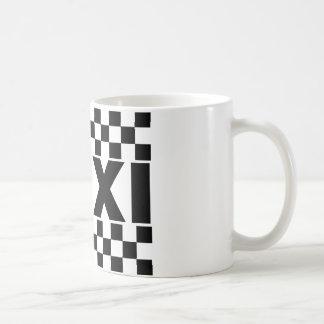 Taxi ~ Taxi Cab ~ Car For Hire Classic White Coffee Mug