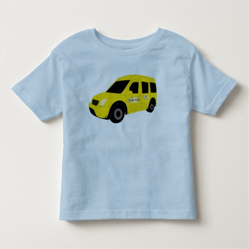 taxi van tee shirt