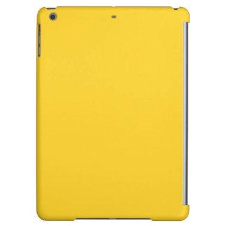 Taxi Yellow Acid Lemon Yellow Uptown Girl Designer iPad Air Cases