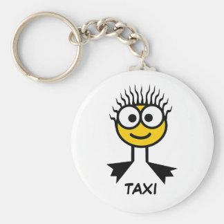 TAXI - Yellow Swim Character Keyring Keychain