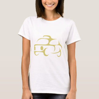 Taxicab in Swish Drawing Style T-Shirt