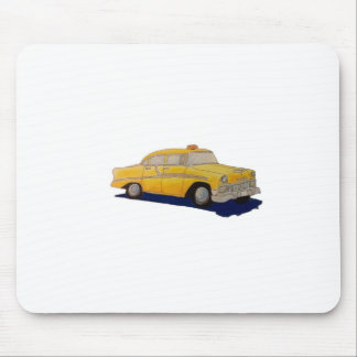 Taxicab Mouse Pad