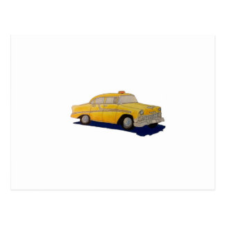 Taxicab Postcard