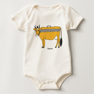 Taxicow Infant Rompers