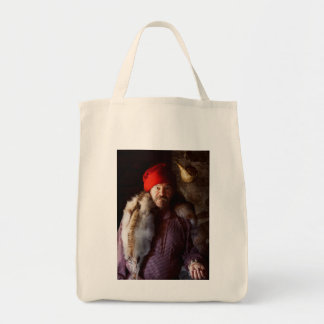 Taxidermist - Jaque the fur trader Grocery Tote Bag