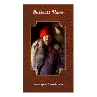 Taxidermist - Jaque the fur trader Double-Sided Standard Business Cards (Pack Of 100)