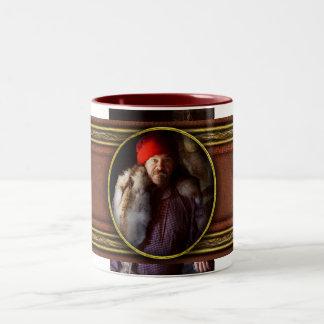 Taxidermist - Jaque the fur trader Two-Tone Coffee Mug