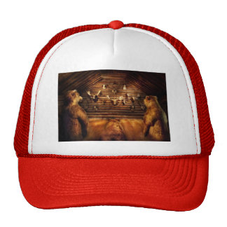Taxidermy - Home of the three bears Trucker Hat