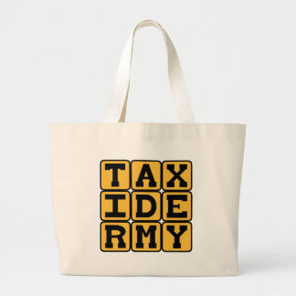 Taxidermy, Stuffing Dead Animals Tote Bags