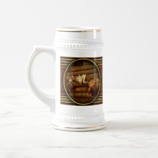 Taxidermy - The hunting lodge  18 Oz Beer Stein