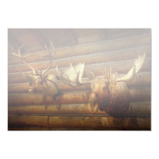 Taxidermy - The hunting lodge  Card