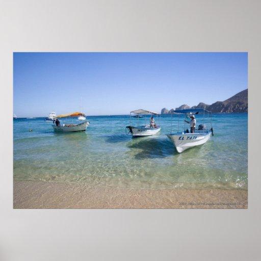 Taxis del agua de Cabo Poster
