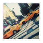 Taxis inclinados NYC Tejas